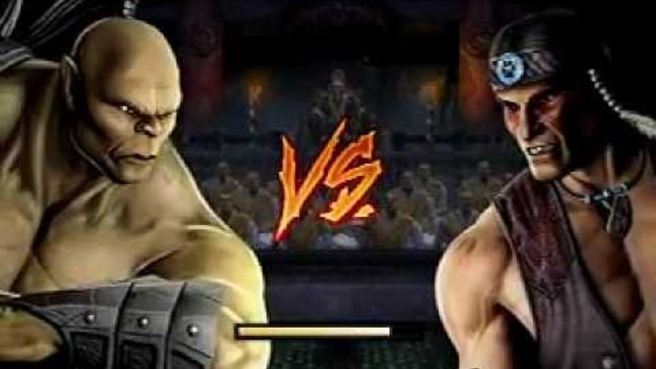 MORTAL KOMBAT 9 ON PS3 PLAY AS GORO,KINTARO,SHAO KAHN