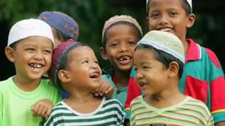 Sing Children of the World - Beautiful nasheed by children (No music) - IN ENGLISH
