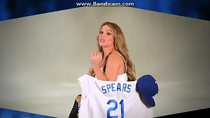 Britney Spears Part - Dodgers Opening Video (2014)