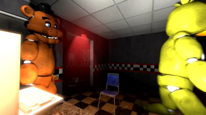 [SFM] FNAF - Chica Plays The Scary Maze Game!!!
