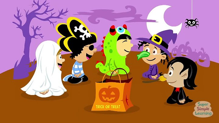 Super Simple Songs Halloween.Who Took The Candy Halloween Song Super Simple Songs