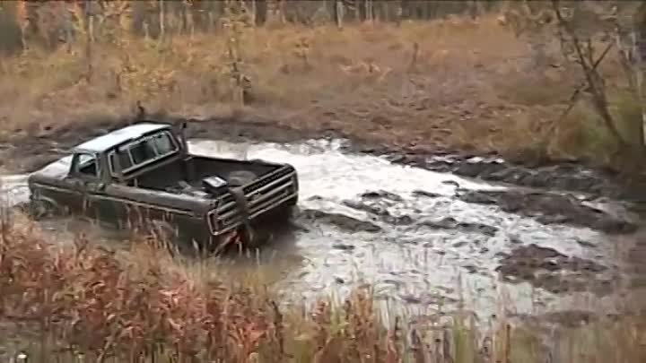 How to get buried in a 4x4