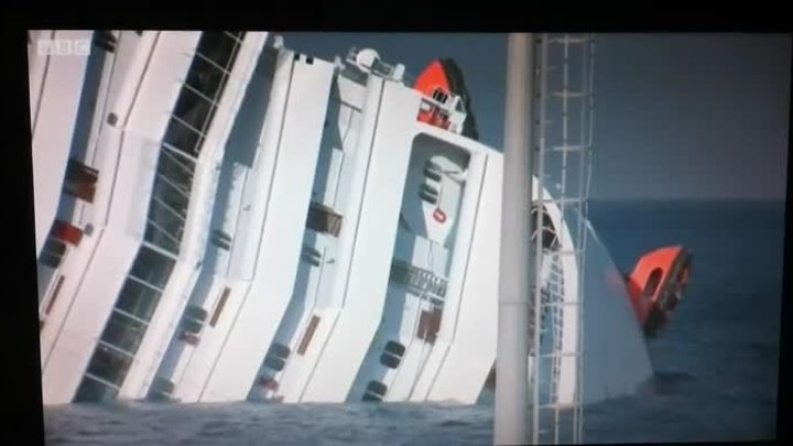Costa Concordia Italian cruise ship runs aground!