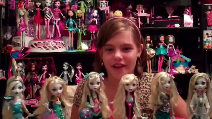 Monster High Lagoona Blue Doll Collection By Nessy