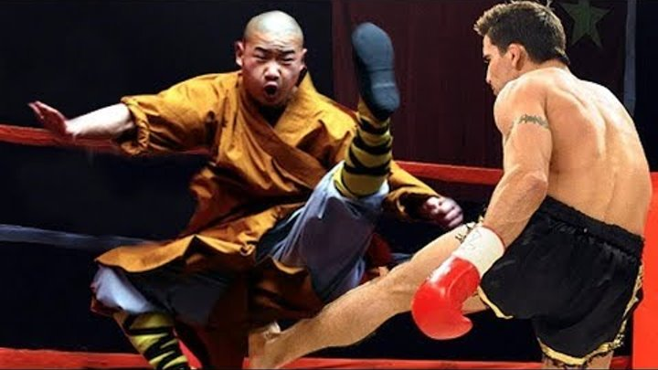 KungFu Monk vs Kickboxers | Don't Mess With Kung Fu Masters