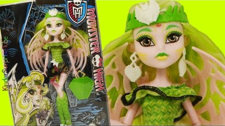 Обзор Кукла Монстер Хай БЕТСИ КЛАРО МХ Monster High BATSY CLARO Brand Boo Students Doll Review MH