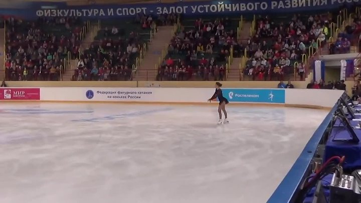 2015 ISU CS Mordovian Ornament. Short Dance. Ladies - Free Program. Adelina SOTNIKOVA