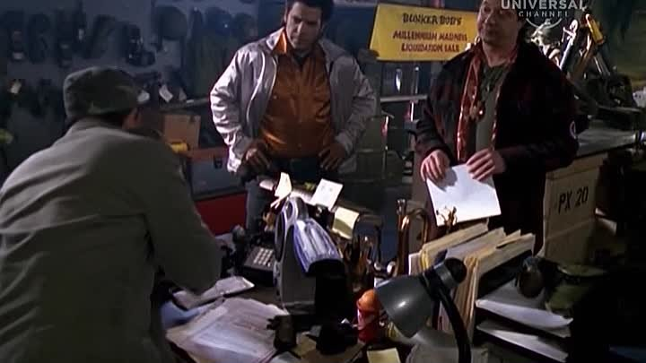 Детектив Нэш Бриджес (сериал) / Nash Bridges [1996] (s04.e22)