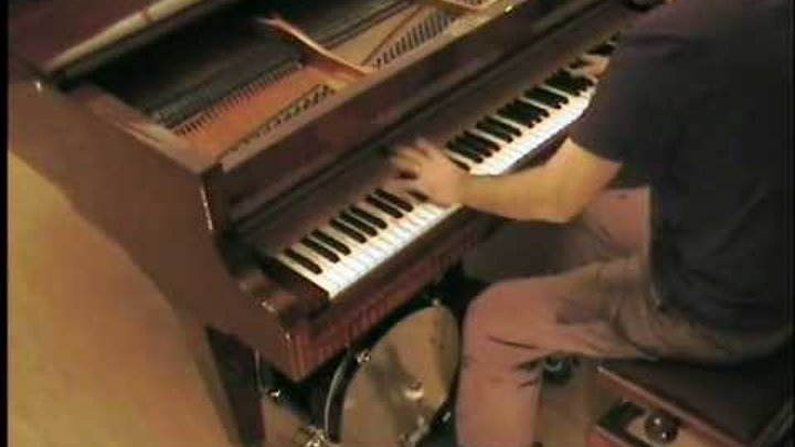 Dj Antoine - Ma Cherie piano & drum cover acoustic instrumental unplugged by LiveDjFlo