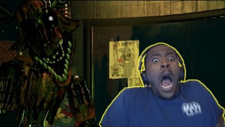 FOXY! BB! CHICA! SPRINGTRAP! FREDDY JUMPSCARE! | Five Nights At Freddy's 3 Night 3 | FULL GAME