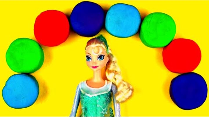Disney Frozen Princess Elsa Play-Doh Surprise Eggs Cars 2 Toy Story Lalaloopsy Doll Toys FluffyJet