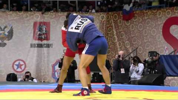 Sambo World Cup Memorial of Kharlampiev 2015 Day 1 Highlights