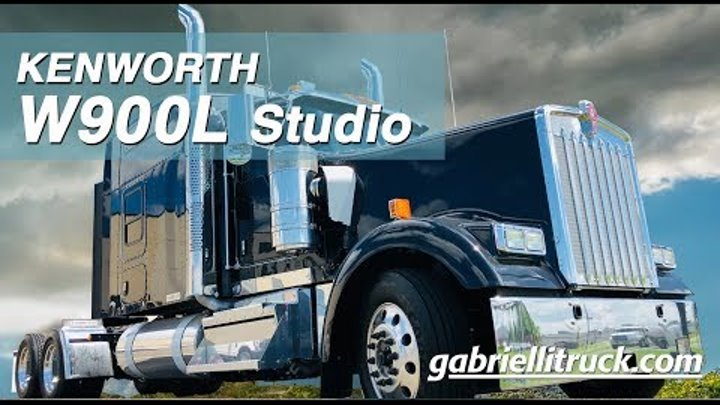 NEW 2019 Kenworth W900L Studio Sleeper For Sale