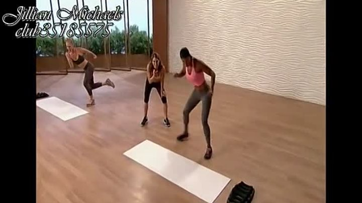 Jillian Michaels_ Beginner Shred - Workout 2 - (Аглийская озвучка) - 2014