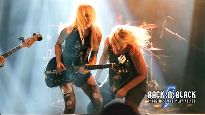 AC/DC Girls 2015 - For Those About To Rock (We Salute You) - BACK:N:BLACK (HD)