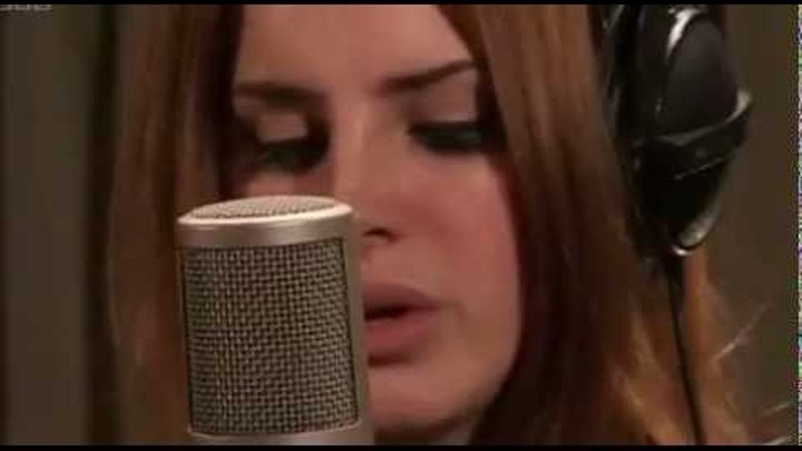 Lana Del Rey - Video Games Live Lounge WIth Zane Lowe