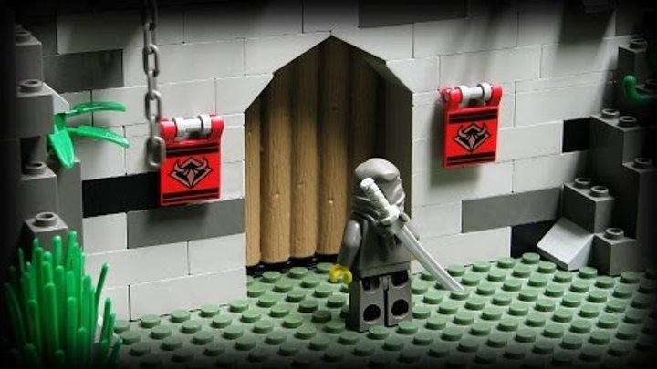 Lego Ninja - The Underground Fortress