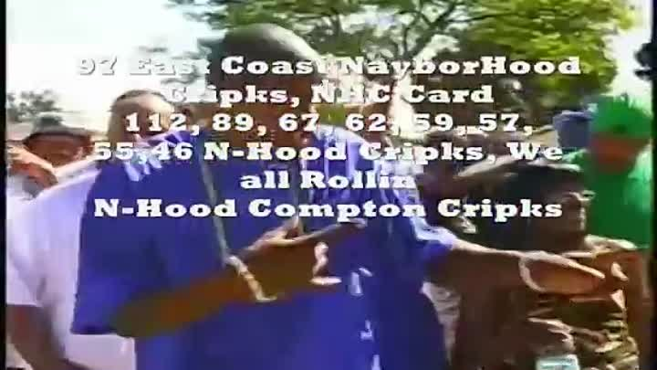 Rollin NHoods 40-100's, East Coast Crips (NHC) All Rollin Sets- 2 Fingers And A Thumb Connected!