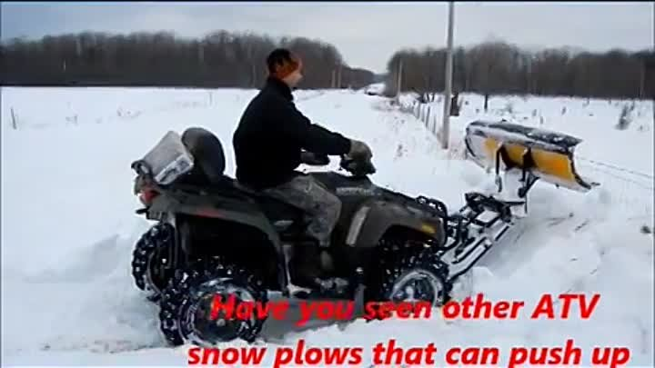 GROUND FORCE Snow plow Attachment