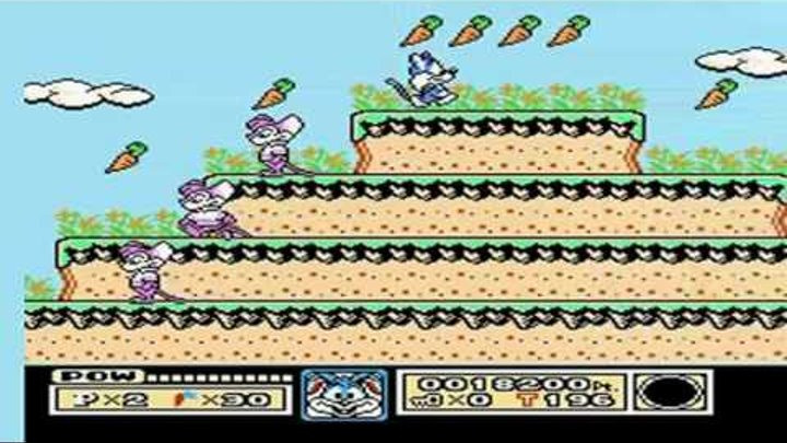 Tiny Toon Adventures Walkthrough Part 1