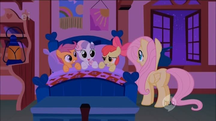 Fluttershy and the Cutie Mark Crusaders Lullaby