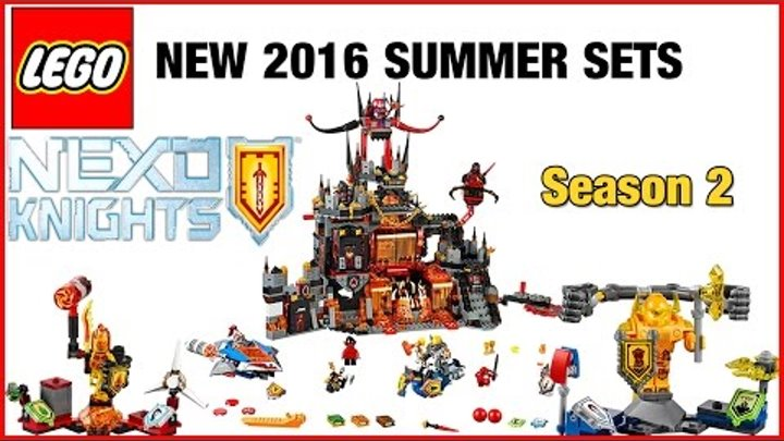 Lego Nexo Knights summer 2016 sets Season 2 HD photo