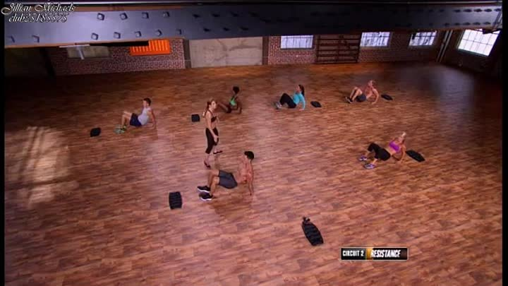 Jillian Michaels BODYSHRED - Workout 1 (LAUNCH) - (Аглийская озвучка) - 2015 год