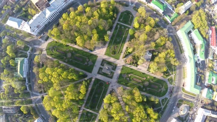 [Spring] Poltava in UltraHD Phantom 2 & GoPro 4 Black Edition 4k