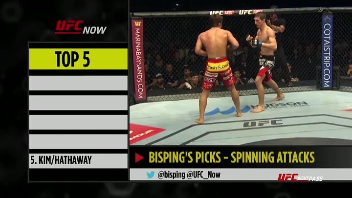 UFC Now Ep. 302_ Top 5 Spinning Attacks