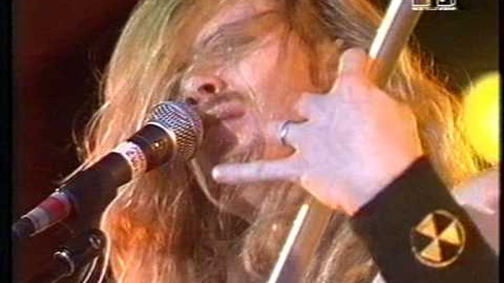 Megadeth - The Conjuring MTV '92