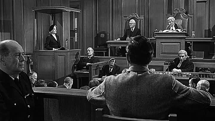 (Mystery) Witness for the Prosecution - Charles Laughton, Tyrone Power 1957