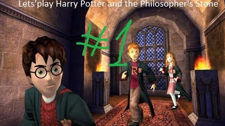 Harry Potter and the Philosopher's Stone часть 1