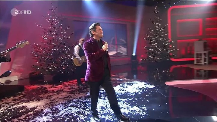 Thomas Anders - It's Christmas time & Kissses for Christmas (ZDF HD die Adventsshow 02.12.12)