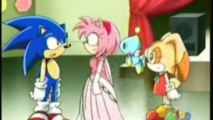 Sonic and Amy- Love Story