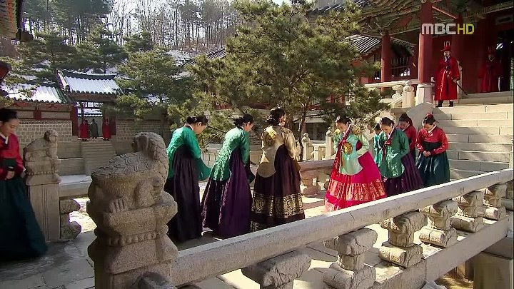 Солнце в объятиях луны / The Moon That Embraces the Sun (озвучка) - 13 для http://asia-tv