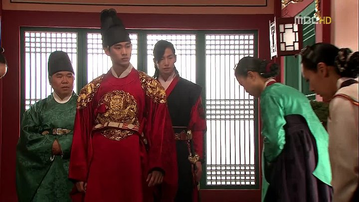 Солнце в объятиях луны / The Moon That Embraces the Sun (озвучка) - 16 для http://asia-tv