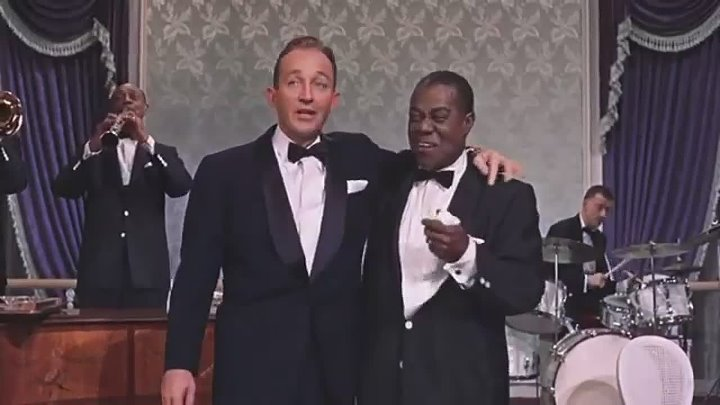 Bing Crosby & Louis Armstrong, 1956