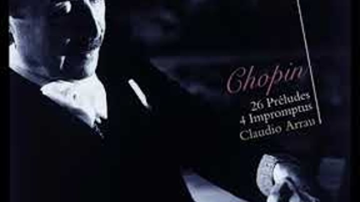 Chopin Impromptu No. 4 In C Sharp Minor, Op. 66 Fantaisie Impromptu by Claudio Arrau