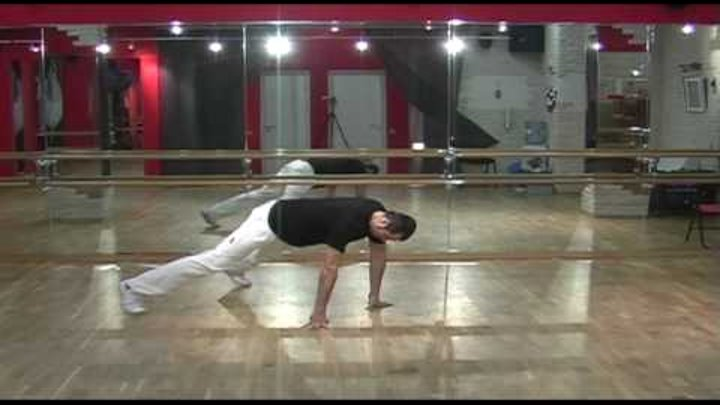 Брейк данс обучение. Урок 07. Breakdance tutorial footwork. Lesson 07