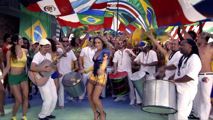Pitbull feat. Jennifer Lopez & Claudia Leitte - We Are One (Ole Ola) - 2014 - Official Olodum Mix - Full HD 1080p - группа Танцевальная Тусовка HD / Dance Party HD