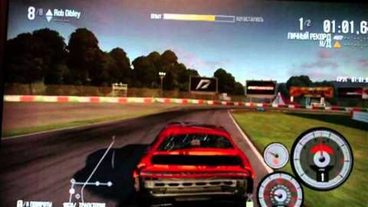 Need For Speed Shift 2 Unleashed Damage System Test PC 2011