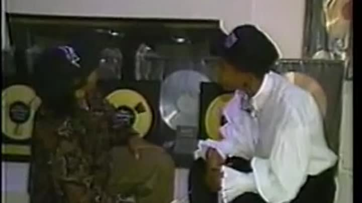 Eazy-E at Home Interview w-Dee Barnes