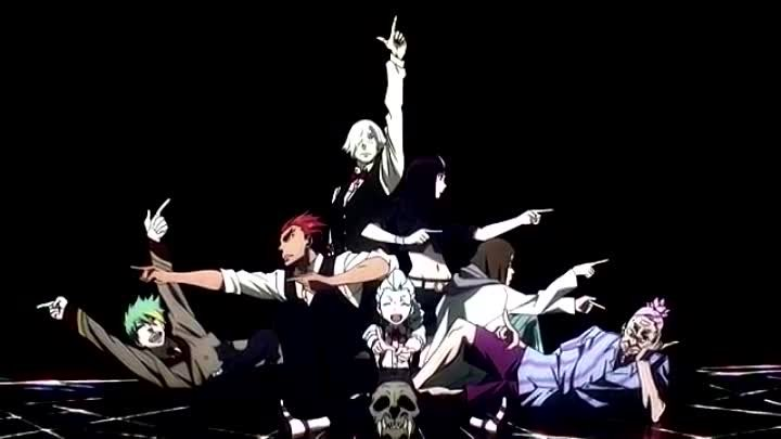 Death-Parade-OP---Парад-смерти-опенинг-(Jackie-O-Russian-TV-Version)-[WikiBit.me]