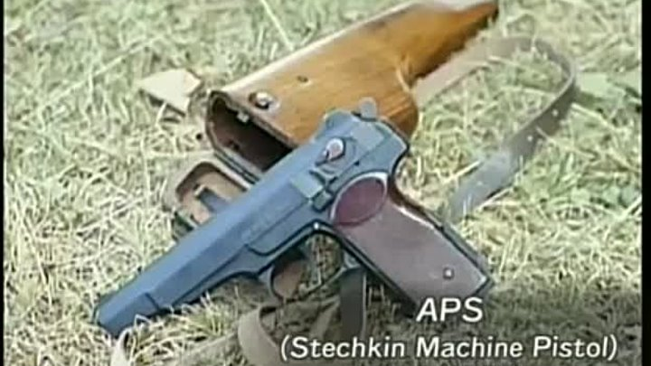 APS (Stechkin Machine Pistol)