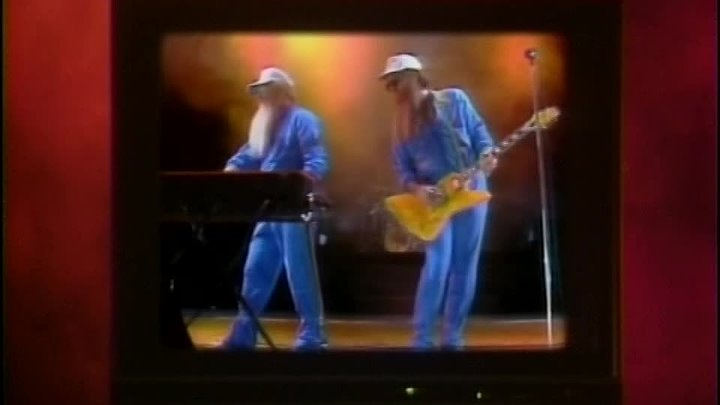 ZZ Top Greatest Hits 1992 (The Video Collection)