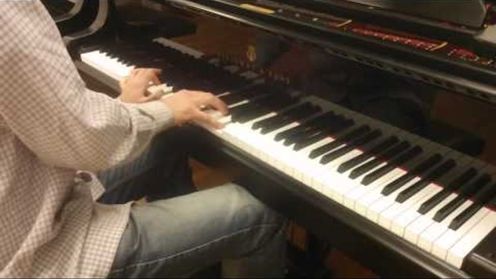 """The Beatles - """"Something"""". Piano cover by Lucky Piano Bar (Eugene Alexeev)"""