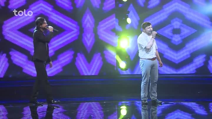 SuperStar Season 2 - Top 10 Result Show - Dawood Pazhman and Jamshid Sakhi