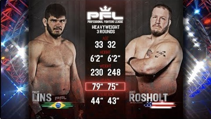 Full Fight Friday: Philipe Lins vs. Jared Rosholt from PFL Playoffs: New Orleans