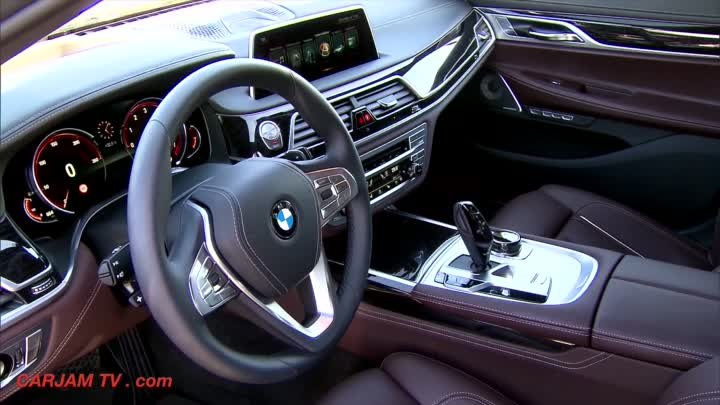 New BMW 7 Series 2016 REVIEW BMW 750Li xDrive M Sport BMW G11/G12 CARJAM TV HD 2015