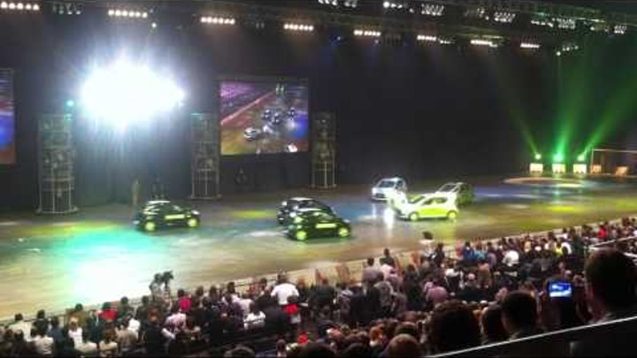 Top Gear Live (Russia, Moscow) Футбол Soccer